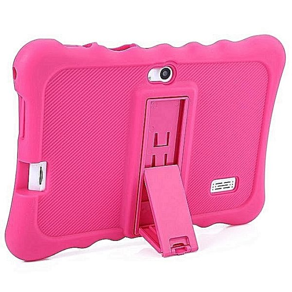 Atouch InchGBRAMAndroid.ChildrenTablet(Pre InstalledEducationalApps)+FreeProofCase Pink