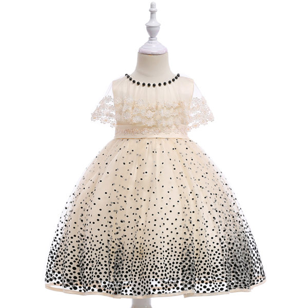 New model kids clothing children wedding dress